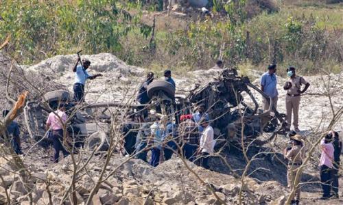 കർണാടകയിലെ ക്വാറിയിൽ പൊട്ടിത്തെറി: ആറ് പേർ മരിച്ചു
