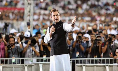 എന്റെ 'മൻ കി ബാത്' കേൾപ്പിക്കാനല്ല, നിങ്ങളെ കേൾക്കാനാണു ഞാൻ വന്നത് : രാഹുൽ