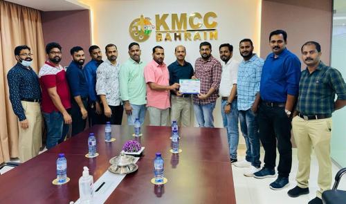 ബഹ്റൈൻ പാലക്കാട് ജില്ലാ കെ.എം.സി.സി യുടെ അംഗത്വ വിതരണ പരിപാടി ആരംഭിച്ചു