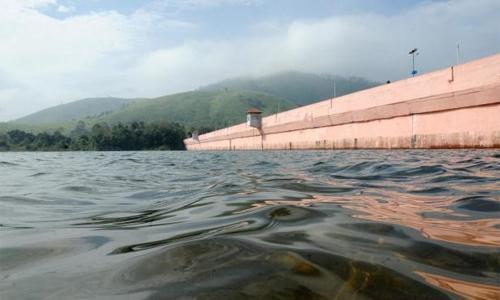 മുല്ലപ്പെരിയാറിൽ ജലനിരപ്പ് 122.4 അടിയായി ഉയർന്നു