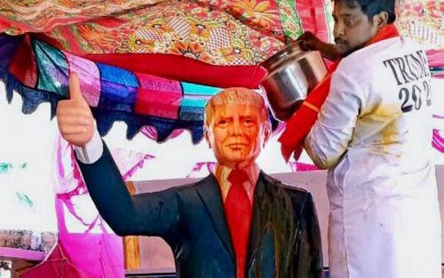 'ട്രംപ് ഭക്തൻ' ബുസാ കൃഷ്ണ കുഴഞ്ഞു വീണു മരിച്ചു