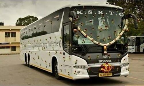 കെ.എസ്.ആർ.ടി.സിക്ക് ലാഭം വാടക ബസ്